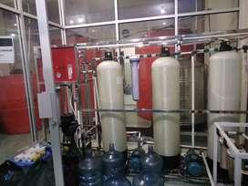Tinggal Lanjutkan Usaha Air Minum isi ulang mineral & RO