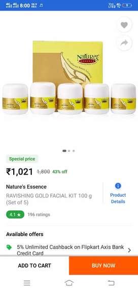 Nature's Gold Facial Kit 520g