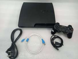 PS3 SLIM 160GB COMPLETE 10 GAME WITH ALL NEW ACCESSRIES WITH 1 MONTH W