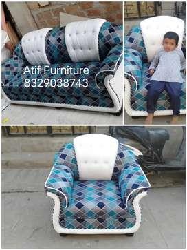 Newly sofa sat