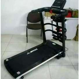 Black Treadmill Electric 3 fungsi