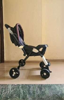 Luvlap Galaxy Stroller/Pram in new condition