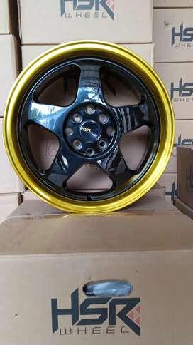 model LOUD JD805 HSR R16X8/9 H8X100-114,3 ET35/30 BK/GOLD USUP