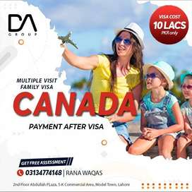 CANADA MULTIPLE VISIT VISAS FOR FAMILY WITH (CHEAPEST RATE)