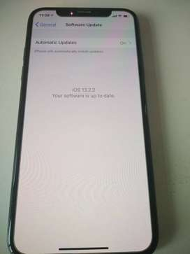 IPhone X - Sparingly used - 256 GB -