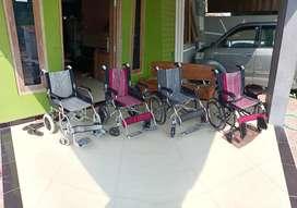 Kursi roda impor lengkap