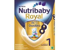 nutribaby royal acti duobio 1 0-6 & 2 6-12 bulan