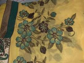 Partywear dress and saree