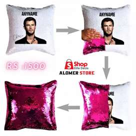 Customized Magic Cushion with Filling Customized Gifts Cushion Covers