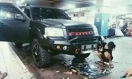 Bumper model rocker ford ranger/ everest
