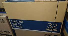"32"" full HD 2 USB @  2HDMI port LED TV new box pack"