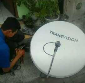 Gebyar promo Transvision HD rsmi Gianyar pket murah hemat cepat pasang