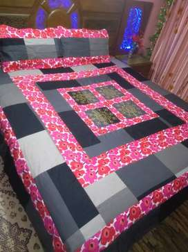 Sale on Embroided bed sheet in reasonable price