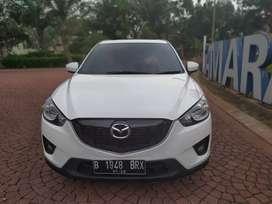 Mazda CX-5 GT putih 2.0 tahun 2013, DP 15 juta
