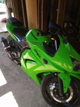 ninja 250 hijau mulus
