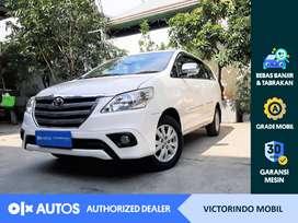 [OLXAutos] Toyota Kijang Innova 2014 2.0 G A/T Putih #Victorindo