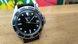 Jam tangan Yema diver manual winding rare item
