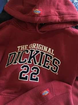 Dickies hoodie marron