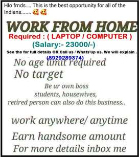 Typing work//PDF TO MS WORD//LAPTOP/COMPUTER BASED//CALL ME NOW