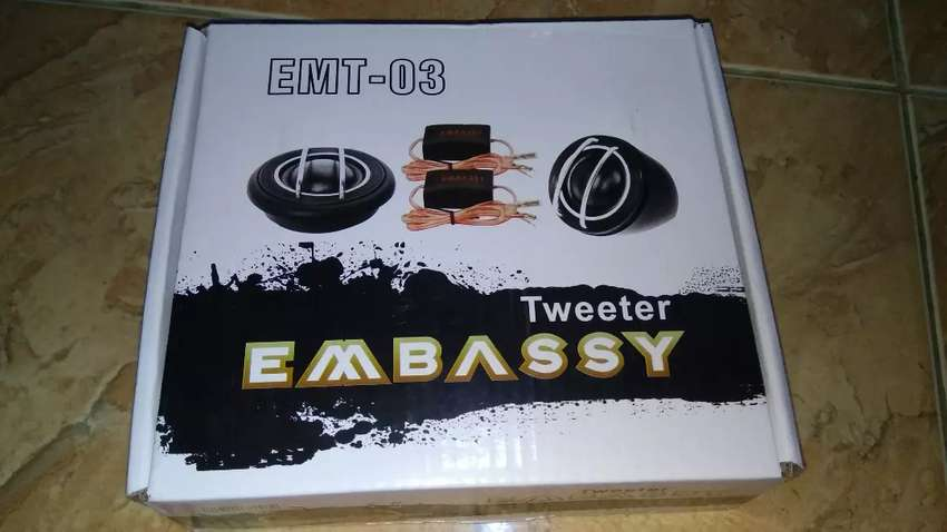 Tweeter Embassy suara halus # HD Audio Jogja 0