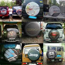 Cover/Sarung Ban Terios/Everest/Ford Everest/Rush/Pemurah#Chelsie Logo