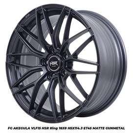 jual velg type hsr wheel FG AKEGULA VLF15 HSR R18X8 H5X114,3 ET45 MGM