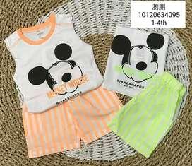 Baju Stelan anak Import
