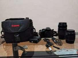 Canon rebel t3 + lensa tamron macro AF 70-300 mm
