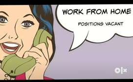 Work from home based job