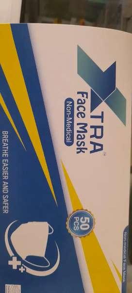 Masker murah 1 box / masker earloop extra