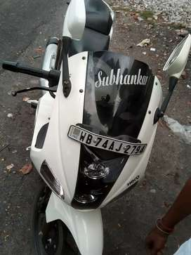 My bike run only 18400km ,very new candition