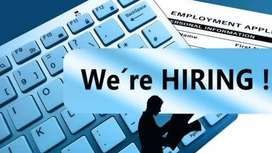 hiring for supervisor and store keeper helper