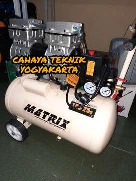(CAHAYA TEKNIK JOGJA) kompresor 1 hp 25 liter matrix silent tanpa bsng