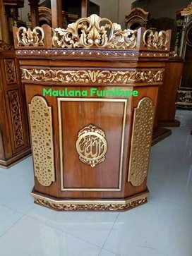 Mimbar podium masjid dakwah