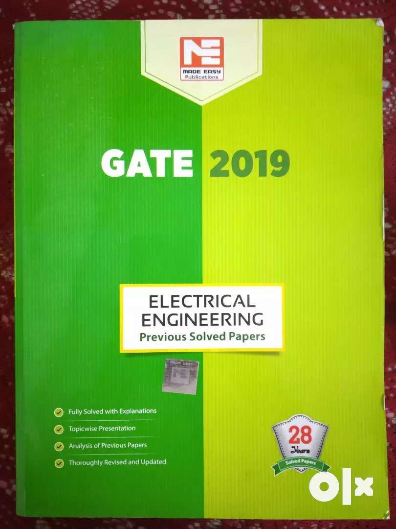 Book for GATE Prepration (Made Easy)