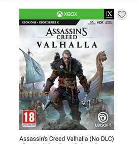 Assassin's valahalla xbox one