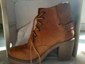 New Flat n Heels boot- Branded.