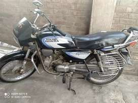 A motorcycle in minimum ruppes