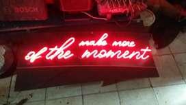 Huruf Timbul Neonbox pajak reklame videotron running text