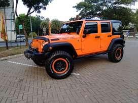 Rubicon Jeep Full Option Bagus Bintaro - Warna Fav Orange