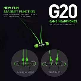 Earphone Gaming Plextone G20