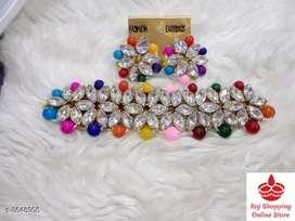 Fancy Alloy Women's Jewellery Sets
