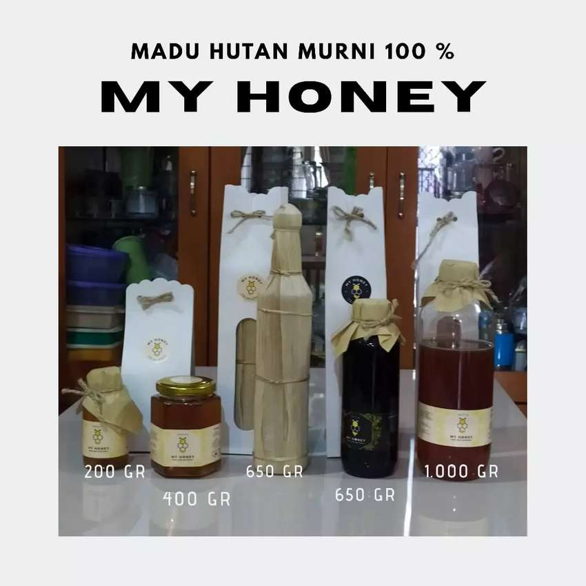 MADU HUTAN MURNI -MY HONEY- 0