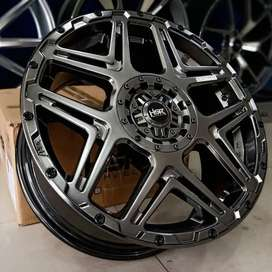 velg mobil terbaru ring 18 lubang 5 pelek racing import cocok di rush