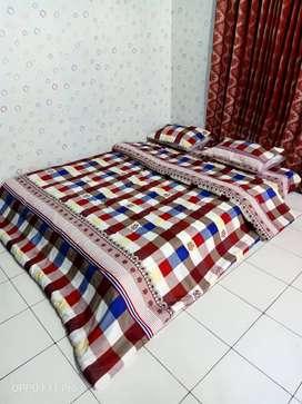 Bed Cover Elegan Pelengkap Tempat Tidur Kirim Kota Ambon