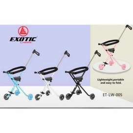 stroller dorong roda 3