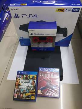 Ps4 Console preowned in good condition with all accessories