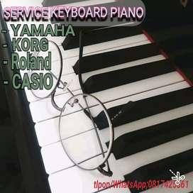 Service keyboard piano
