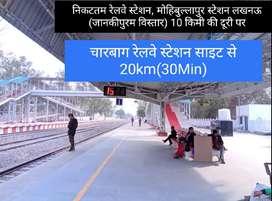 500 sqft plot, sairpur bajar chauraha , raitha rd , sitapur road, bkt