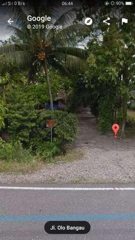 Jual tanah dipinggir jalan aSpal dekat bandara b8m
